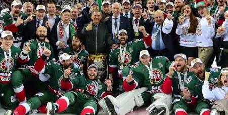 Embedded thumbnail for Поздравляем «Ак Барс» с завоеванием Кубка Гагарина!